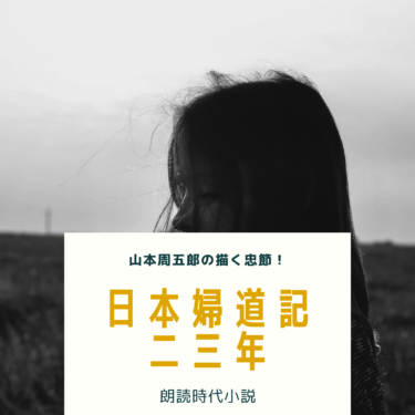 朗読 日本婦道記 「二十三年」 山本周五郎の傑作短編集です!